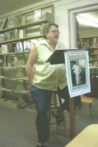 Reading at the Oakland, MS library